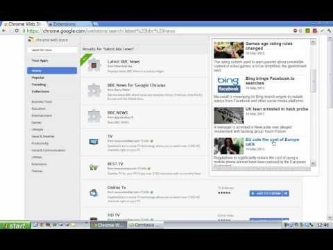 Latest BBC News -  Firefox / Chrome extension