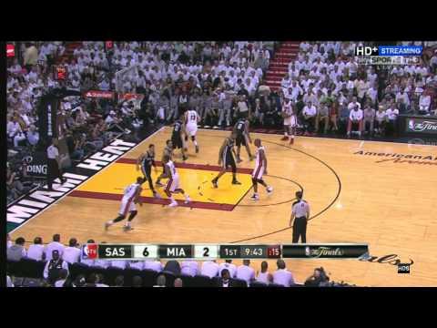 NBA 2013 FINAL GAME 7 PART 1