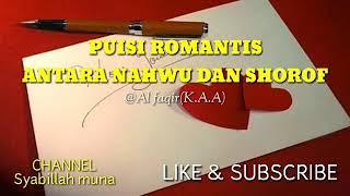 Puisi Romantis Ala Santri Antara Nahwu Dan Shorof Youtube