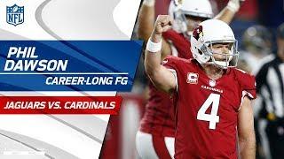 Arizona's Game-Winning Drive Ends w/ Phil Dawson's Career-Long FG! | Jags vs. Cardinals | NFL Wk 12
