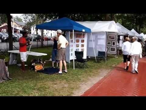 2013 Art In The Park, Saratoga Springs, ny