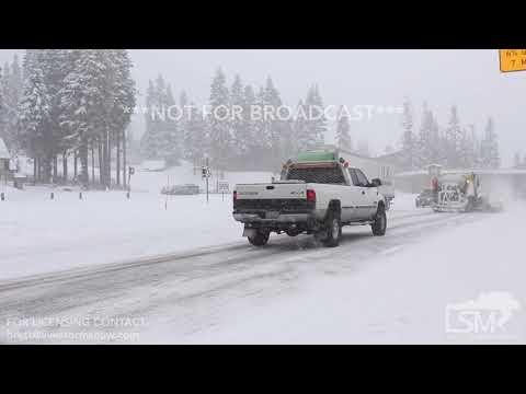 11-28-2017 Stevens Pass, Washington - Heavy Snow and Stuck Car