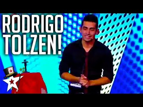 Amazing Magician Shocks Judges on Got Talent Chile | Magicians Got Talent