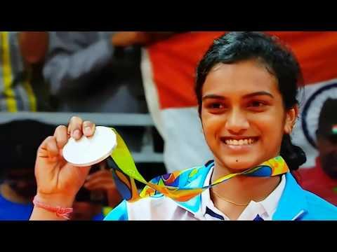 P V Sindhu silver medal ceremony Rio 2016