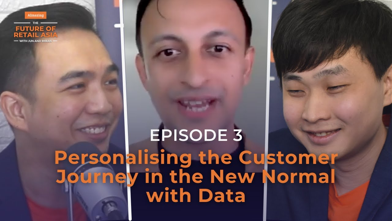 """""""Personalising the Customer Journey in the New Normal with Data"""" with Prantik Mazumdar 
