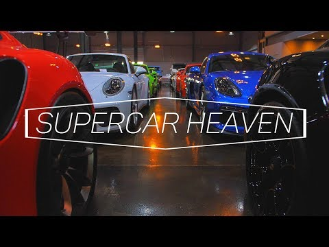 SUPERCAR HEAVEN - CAR VAULT DUBAI