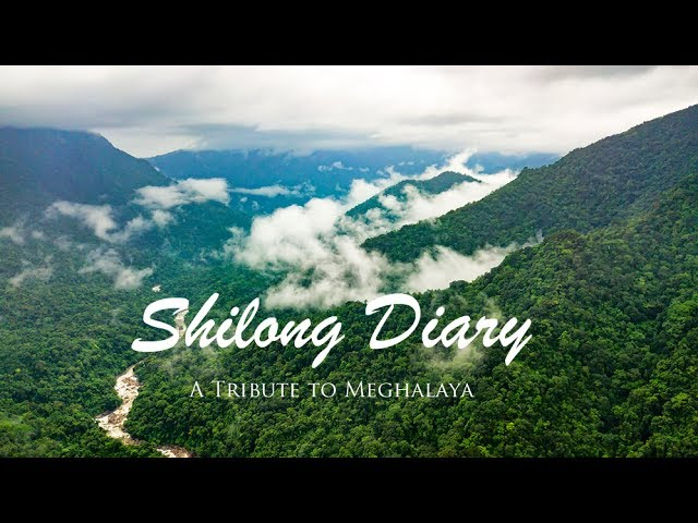 Aerial view of Shillong - A tribute to Meghalaya