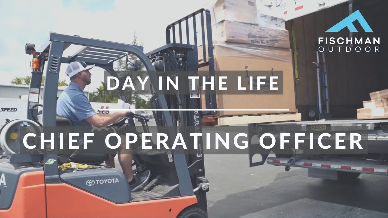 A DAY IN THE LIFE OF OUR COO CHAD FISCHMAN