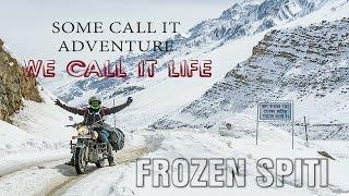 Winter ride to Frozen Spiti | White Spiti | Himalayan Adventure |