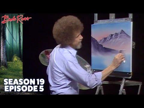Bob Ross - Campers Haven (Season 19 Episode 5)