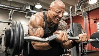 """Dwayne Johnson """"The Rock"""" Workout Motivation 2018"""