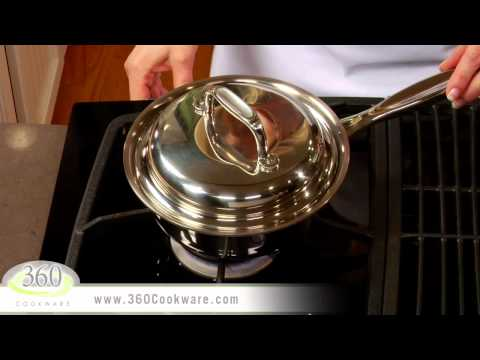Hard Boiled Eggs with No Water | Vapor Technology with 360 Cookware