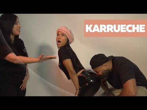 Karrueche Tran Addresses Restraining Order + Ebro Sniffs Her Roses