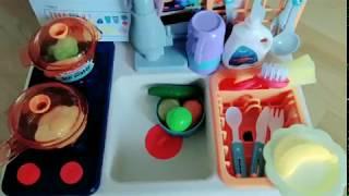 자동 물나오는 설거지 주방놀이