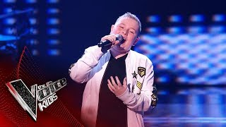 Liam Performs 'Lean On Me' | Blind Auditions | The Voice Kids UK 2019