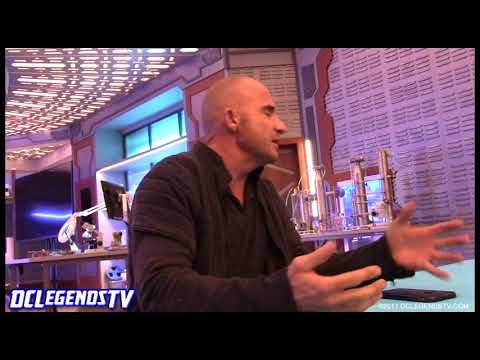 Dominic Purcell on Wentworth Miller  Legends of Tomorrow