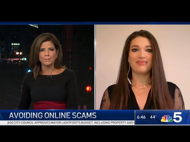 NBC 5 Chicago: Avoiding Black Friday & Cyber Monday Scams