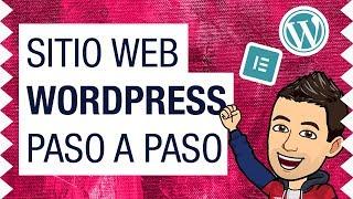 Cómo Crear Una Pagina Web Con Wordpress Paso a Paso (2020) ...