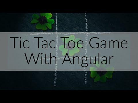 Tic Tac Toe Game With Angular thumbnail