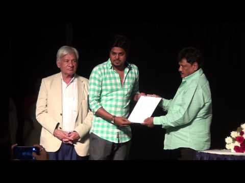 Indore artists receiving awards - 33