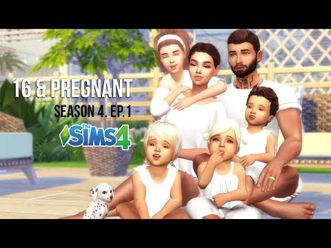 16 & PREGNANT | SEASON 4 | EPISODE 1 | A Sims 4 Series