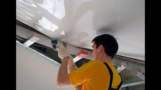 Как делаются и устанавливаются натяжные потолки(Компания Новый потолОК - лидер в производстве и монтаже натяжных потолков в Казахстане. Видео о работе комп..., 2012-12-18T10:52:32.000Z)