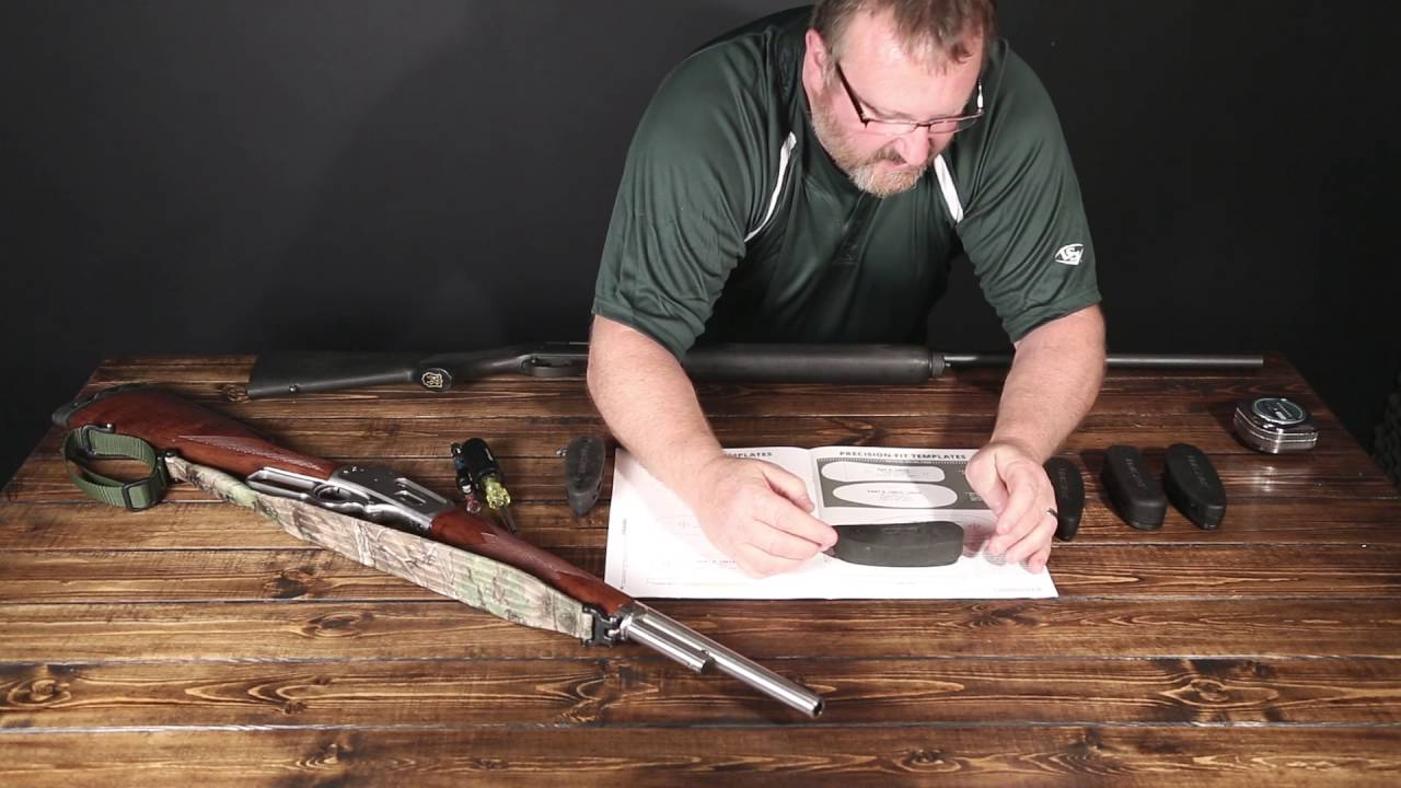 LimbSaver - Choosing & installing the correct recoil pad - YouTube