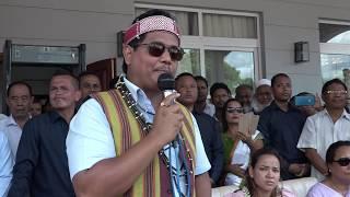 CM Shri Conrad K. Sangma's Victory Speech in Garo