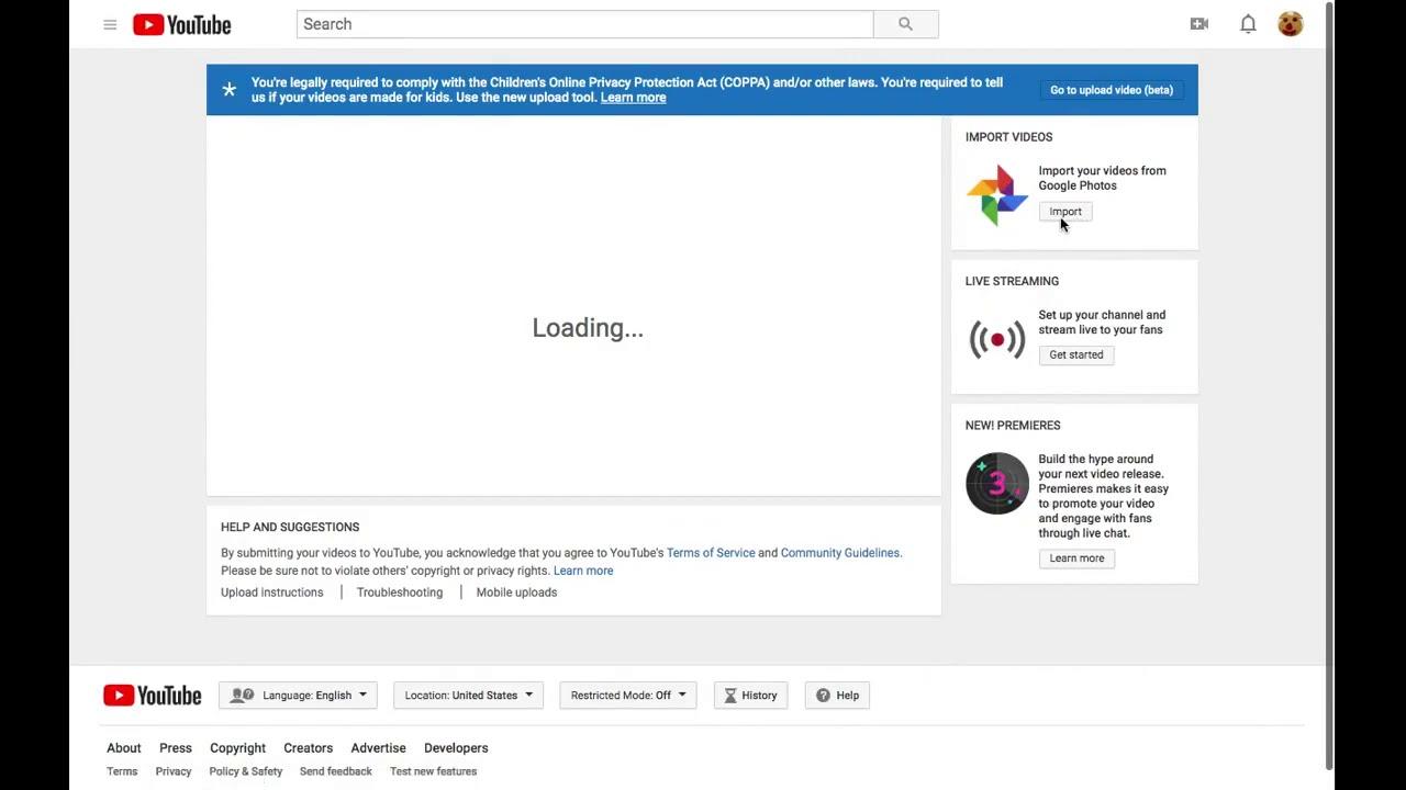 Upload To Youtube From Google Photos Youtube
