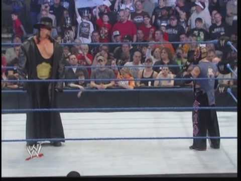 Rey Mysterio Calls Out Undertaker 1/22/10 - YouTube