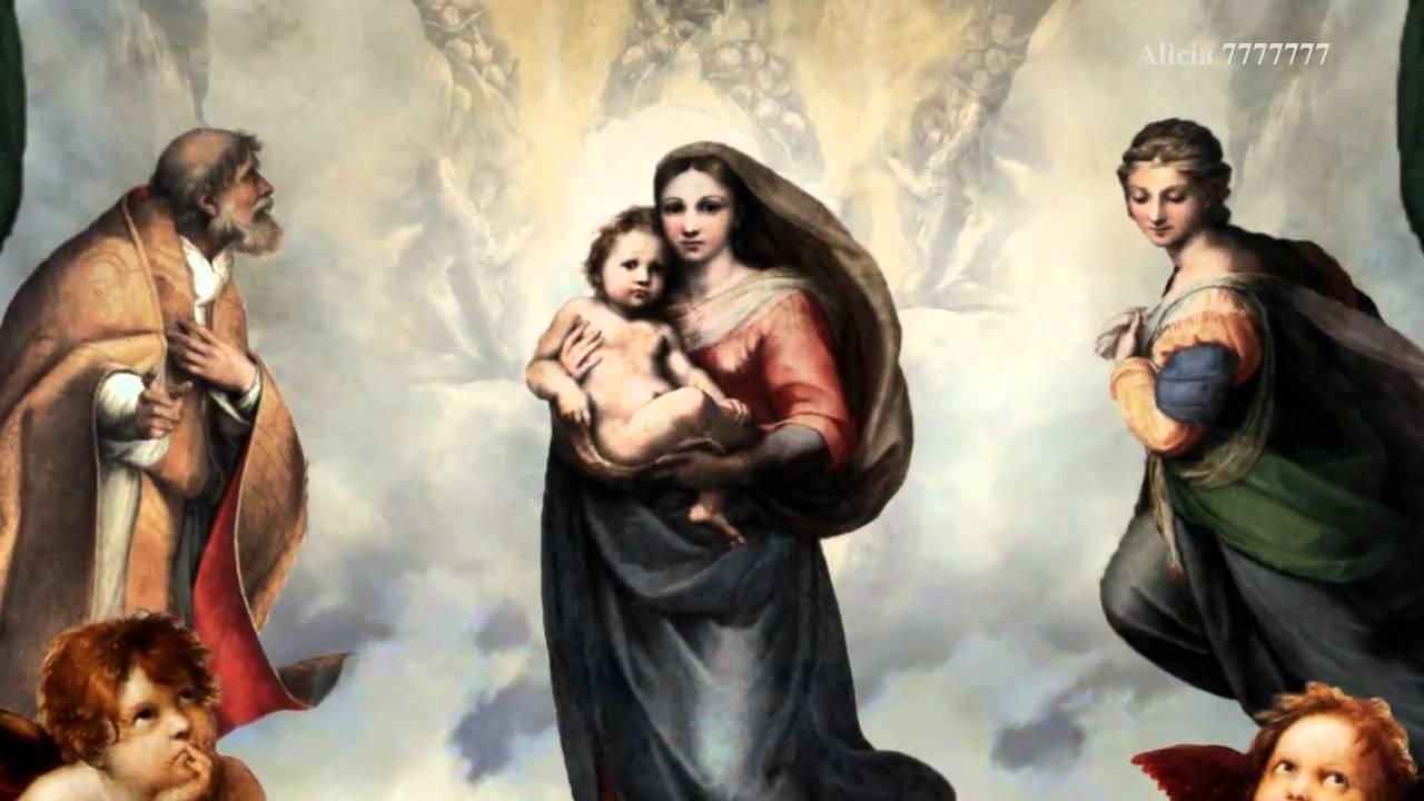 The Sistine Madonna of Raphael. Description of the picture 45
