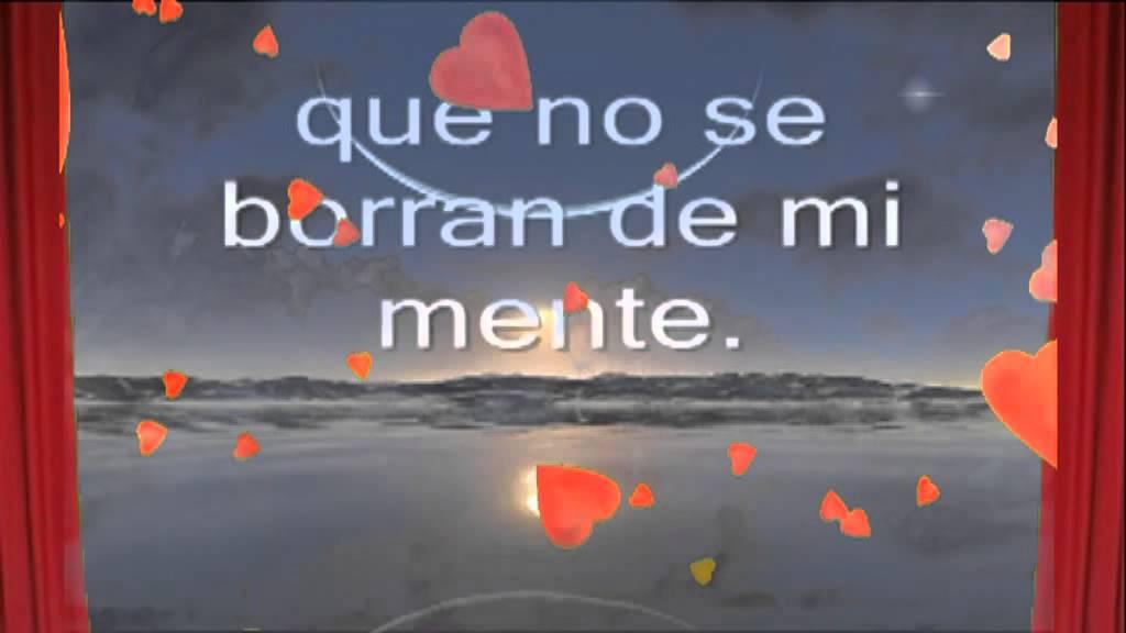 Musica Romantica Con Frases De Amor En Mi Sueño Te Youtube