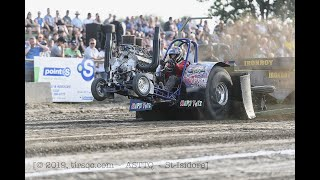 Mini Modified @ St Isidore 2019 Tractor Pulling by ASTTQ 4K