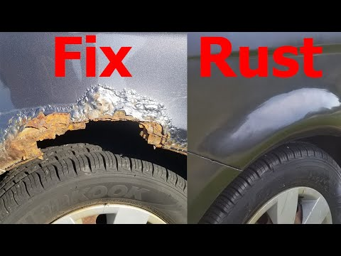 How To Repair Rust Holes On Your Car Without Welding