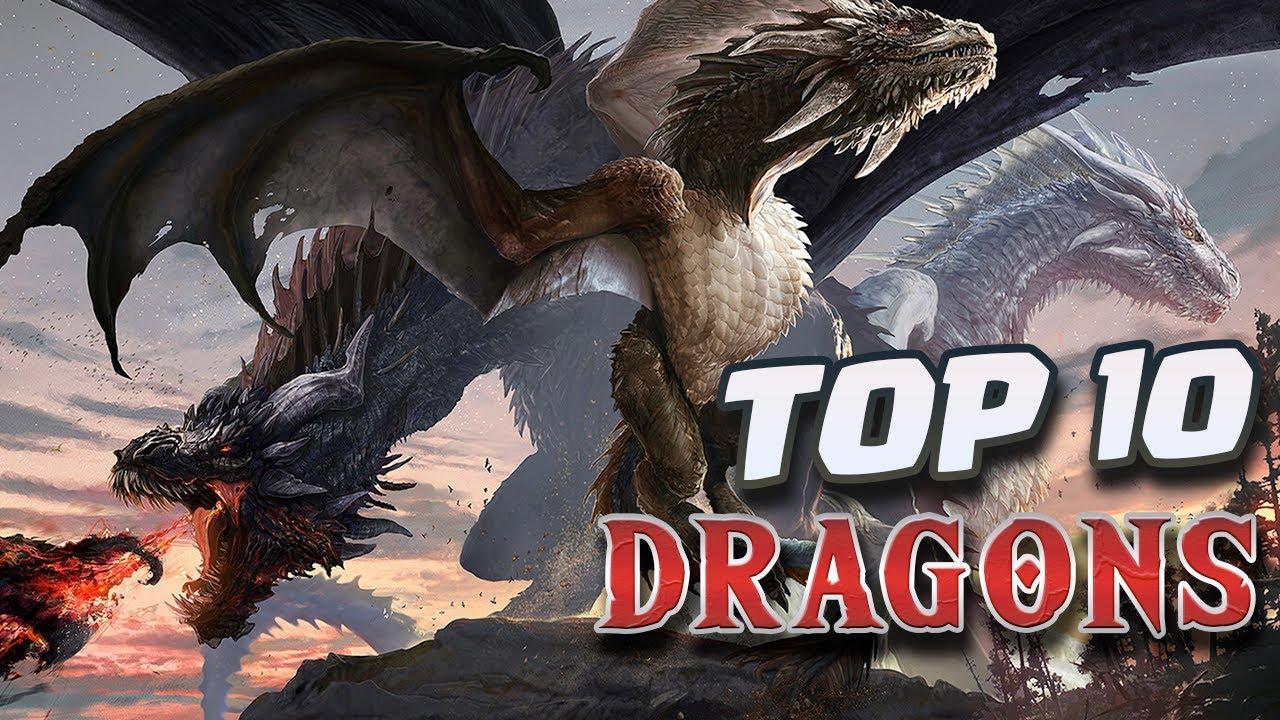 Top 10 DRAGONS in Fantasy Literature