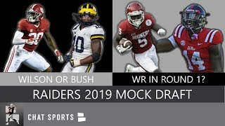 Raiders Draft: Oakland Gets Marquise Brown, Devin Bush In Full 7-Round Mock Draft (vol 1)