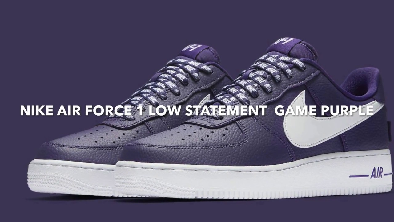 NIKE AIR FORCE 1 LOW STATEMENT GAME COLLECTION !! COP OR NOT ?