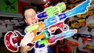 The NERF AVENGERS Assembler Gear INSANE NERF MOD!
