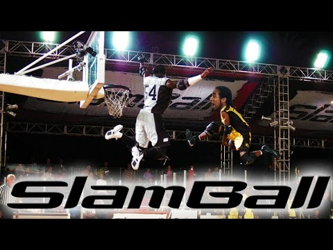 SLAM BALL - OS CARA VOA!!!