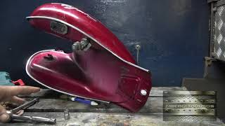 limpiar tanque de gasolina de moto (también  combustible auto