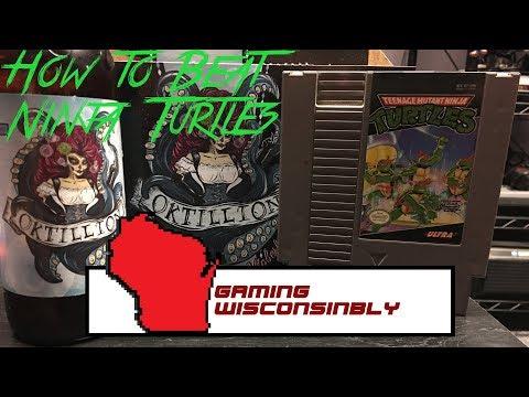 Teenage Mutant Ninja Turtles (NES) - Gaming Wisconsinbly