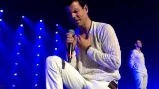 New Kids on the Block perform I'll Be Loving You Forever in Las Vegas