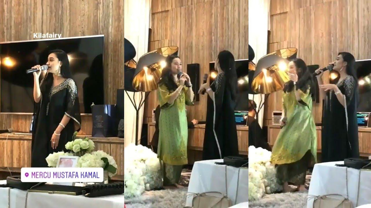 Kilafairy Tya Arifin Nyanyi Lagu Hindustan Sakitnya Tu Disini Pada Malam Berinai Izara Aishah