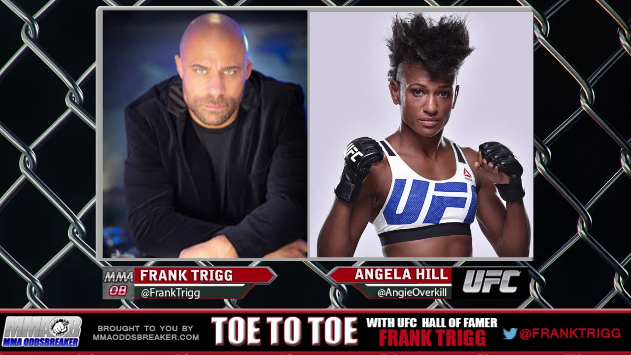 Frank Trigg pre-fight interview with UFC Fight Night 120's Angela Hill