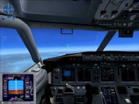 Microsoft Flight Simulator X боинг 737 аварийная посадка