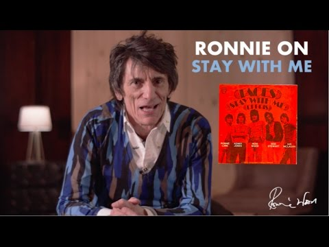 Ronnie Wood on Stay With Me from A Nod Is As Good As A Wink...To a Blind Horse