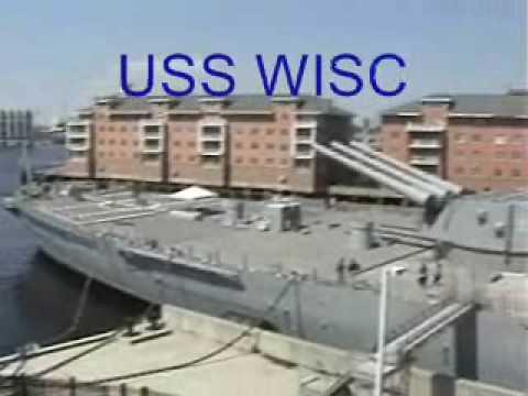 USS Wisconson In Norfolk, Va