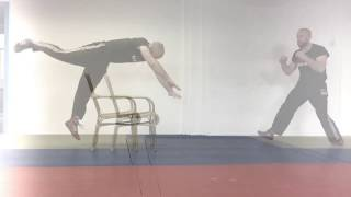 Forward roll for height, with IKMN head instructor Heath Leavitt.