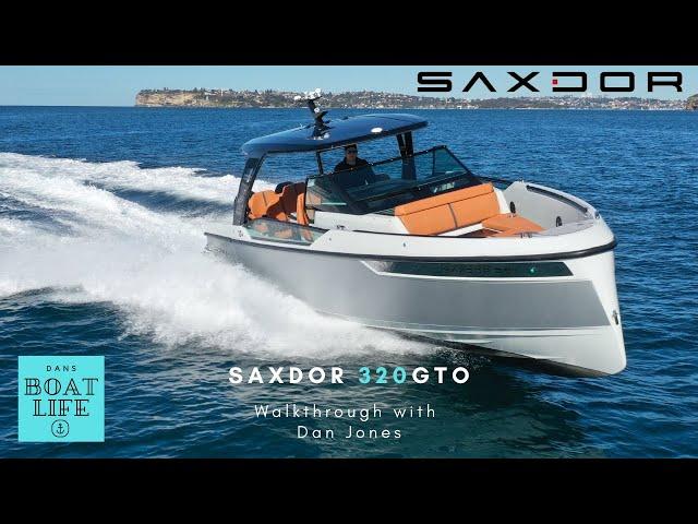 2021 Saxdor 320 GTO - Walkthrough & Review with Dan Jones