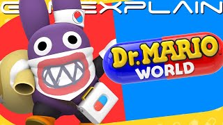 Dr. Nabbit Coming to Dr. Mario World - Trailer (+ Stingby Assistant!)